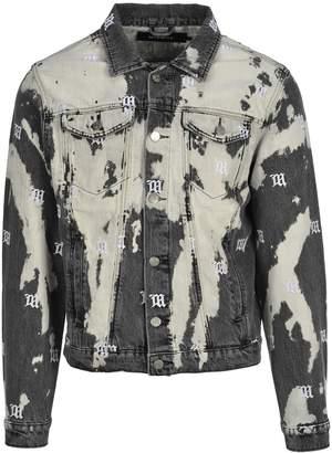 Misbhv Tie-dye Embroidered Denim Jacket