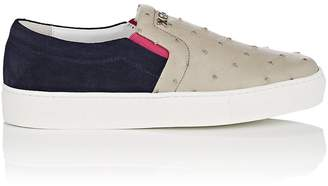 Swear London Women's thedrop@barneys: Maddox Ostrich & Suede Sneakers