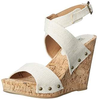 Groove Women's Ariana Wedge Sandal
