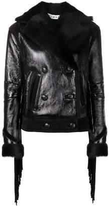 Almaz fringed short jacket