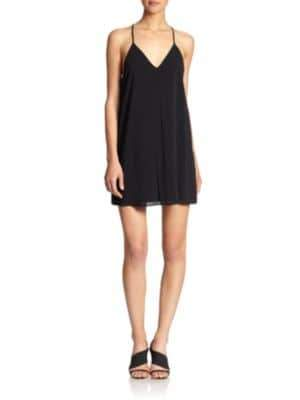 Alice + Olivia Fierra Y-Back Tank Dress