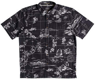 Quiksilver Waterman Men South China Patterned Shirt