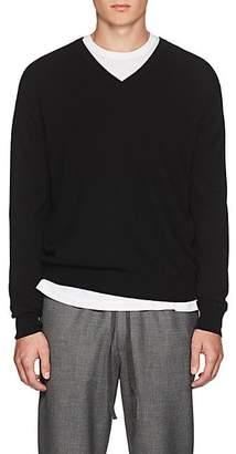 Barneys New York Men's Cashmere V-Neck Sweater - Black