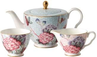 Wedgwood Cuckoo Teapot Sugar & Cream Set