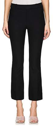 Derek Lam 10 Crosby Women's Stretch-Cotton Crop Flared Pants - Black