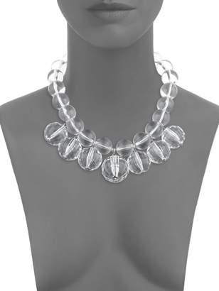 Natasha Crystal Disco Ball Collar Necklace