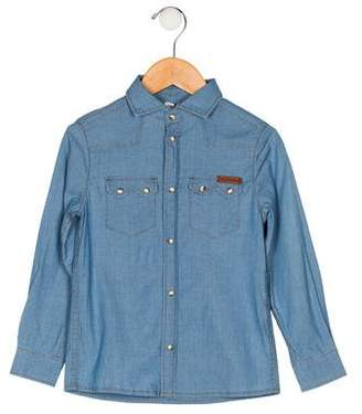 Dolce & Gabbana Boys' Western Button-Up Shirt w/ Tags
