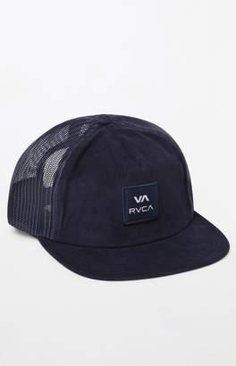 RVCA VA All The Way Snapback Trucker Hat