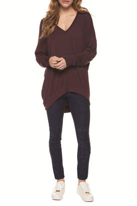 Dex Relaxed Cozy V-Neck Sweater