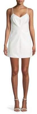 Ronny Kobo Matissa Faux Leather Mini Dress