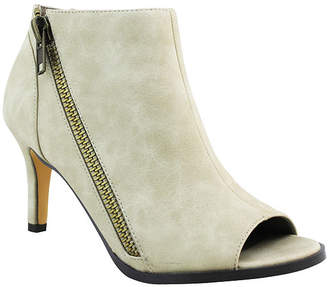 Michael Antonio Womens Fants-Pu Bootie Stiletto Heel Zip