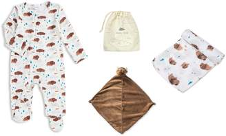 Angel Dear Bison Romper, Blankie & Swaddling Cloth Set