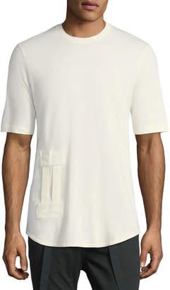 Helmut Lang Bar Tab Cotton T-Shirt
