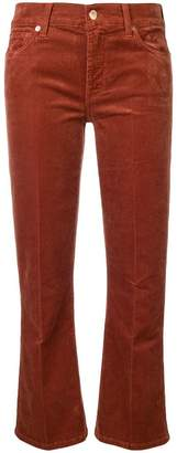7 For All Mankind cropped corduroy trousers