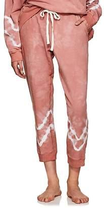 Electric & Rose Women's Kinney Tie-Dyed Fleece Jogger Pants