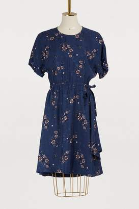 Kenzo Flare dress with flowers print