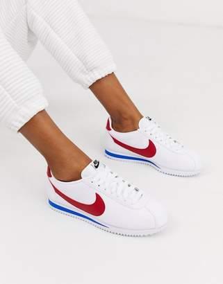 Nike Classic Cortez sneakers in retro leather