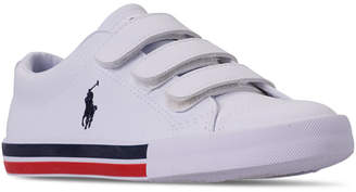 Polo Ralph Lauren (ポロ ラルフ ローレン) - Polo Ralph Lauren Little Boys' Edmund Ez Casual Sneakers from Finish Line