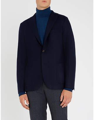 Eleventy Regular-fit flannel jacket