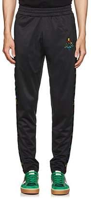 Marcelo Burlon County of Milan County of Milan X Kappa Men's Logo-Embroidered Tech-Jersey Track Pants