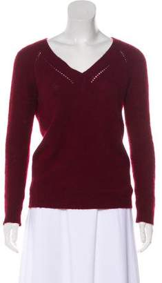 Burberry Cashmere Long Sleeve Sweater