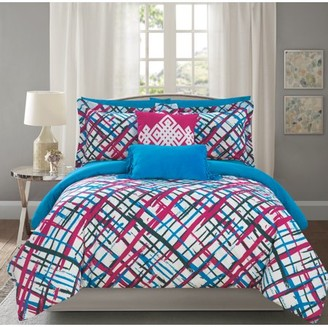 Chic Home Miro 9 Piece Reversible Comforter Set Miro Print Design