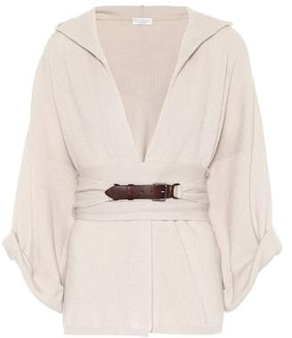 Brunello Cucinelli Hooded cashmere sweater