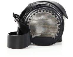 3.1 Phillip LimAlix Metallic Leather & Leather Circle Crossbody Bag
