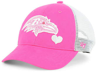'47 Girls' Baltimore Ravens Sugar Sweet Mesh Adjustable Cap