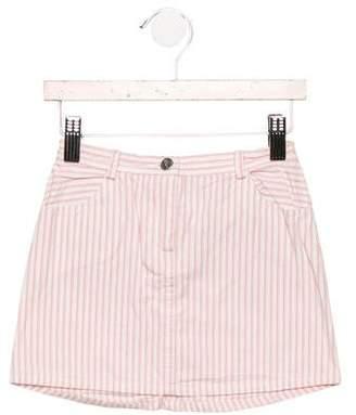 Christian Dior Girls' Striped Skirt