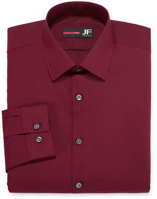 Jf J.Ferrar Long-Sleeve Easy-Care Solid Dress Shirt - Big & Tall