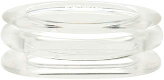 PONO by Joan Goodman Lucite Bangle Set