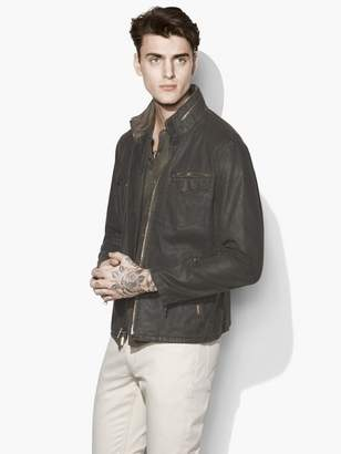 John Varvatos Coated Field Jacket