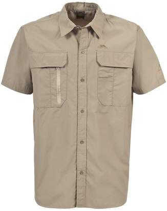 Trespass Mens Colly Short Sleeve Quick Dry Shirt (M)