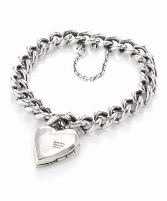 L'echoppe Sunny Side Heart Locket Bracelet