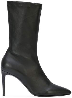 Paco Rabanne glove ankle boots