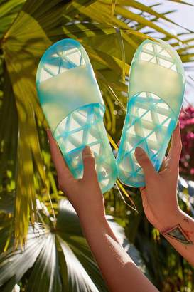 Urban Outfitters Jelly Strap Pool Slide