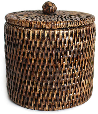 One Kings Lane Knot Canister - Brown