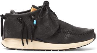 Visvim FBT Full-Grain Leather Sneakers - Black