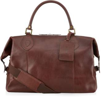 Barbour Leather Travel Explorer Bag