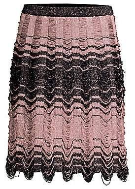 M Missoni Women's Striped Floating Knit Dress