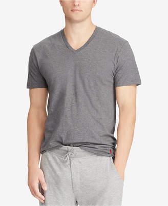 Polo Ralph Lauren Men's Classic-Fit V-Neck Cotton T-Shirt, 4-Pk.