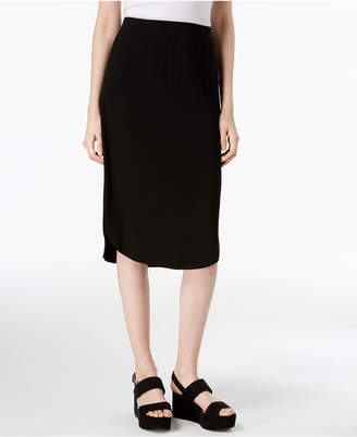 Eileen Fisher Stretch Jersey Pull-On Skirt