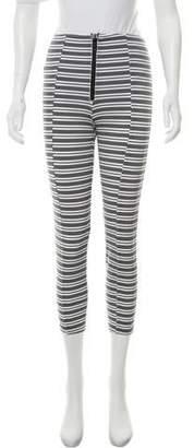 Lisa Marie Fernandez Cropped High-Rise Pants