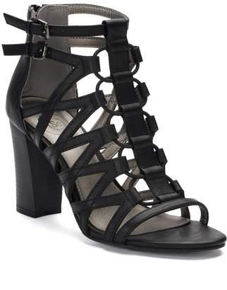 So SO Pufferfish Women's High Heel Gladiator Sandals