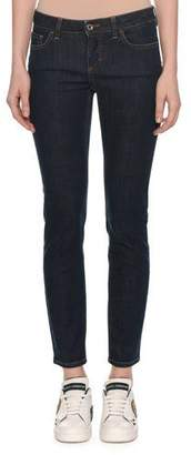 Dolce & Gabbana Pretty Fit Five-Pocket Skinny Jeans w/ Queen Back Pocket