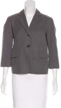 Marc Jacobs Striped Notch-Lapel Blazer