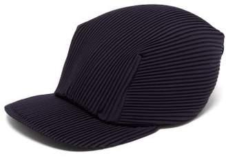 Pleats Please Issey Miyake Pleated Baseball Cap - Womens - Navy