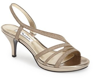 Women's Nina 'Neely' Slingback Platform Sandal $78.95 thestylecure.com