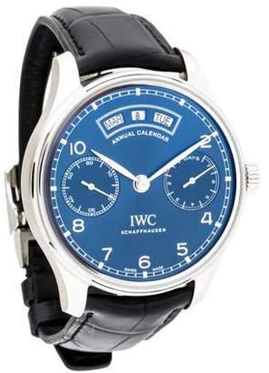 IWC Portugieser Annual Calendar Watch